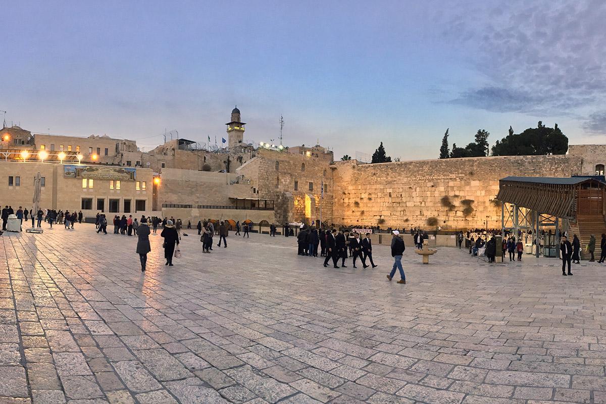 Gerusalemme, la città santa