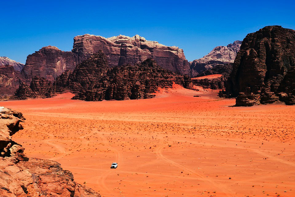 Deserto del Wadi Rum