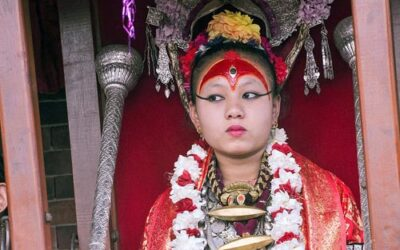 La  Kumari Devi, la dea bambina del Nepal